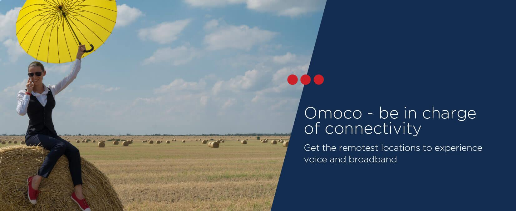 Omoco - be in charge of connectivity